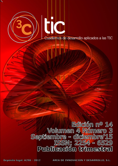 Ver Vol. 4 Núm. 3 (2015): 3C TIC - Edición Nº 14