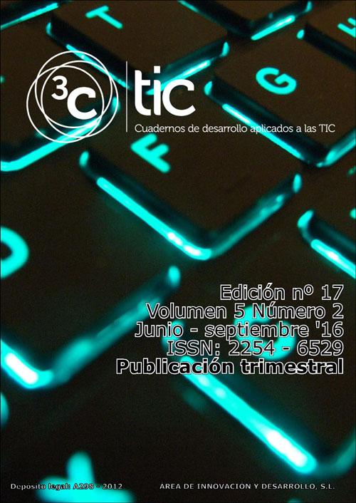 Ver Vol. 5 Núm. 2 (2016): 3C TIC - Edición Nº 17